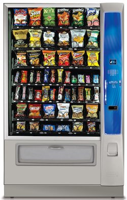 vending machines throughout the City of Reading
