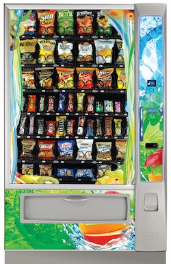 Vending Machines throughout Philadelphia County