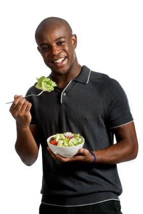 Man With Salad