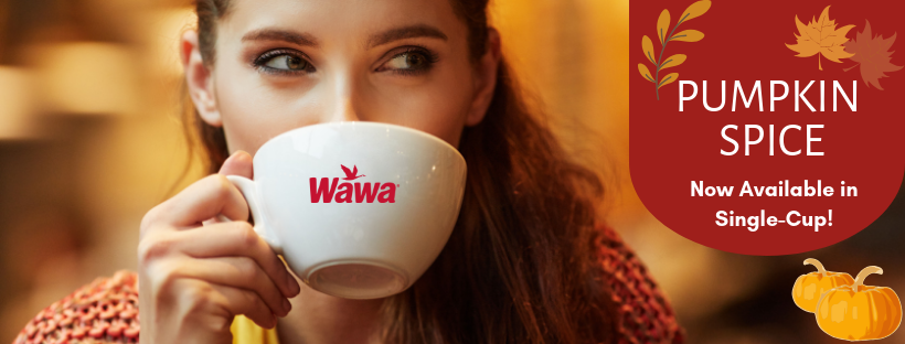 Wawa Pumpkin Spice Coffee in Philadelphia