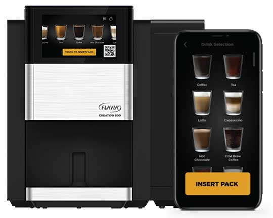 Touchless coffee machines in Philadelphia